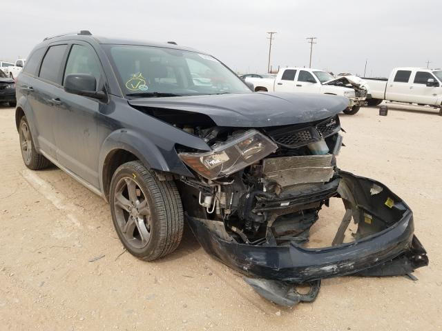 Salvage cars for sale from Copart Andrews, TX: 2017 Dodge Journey CR