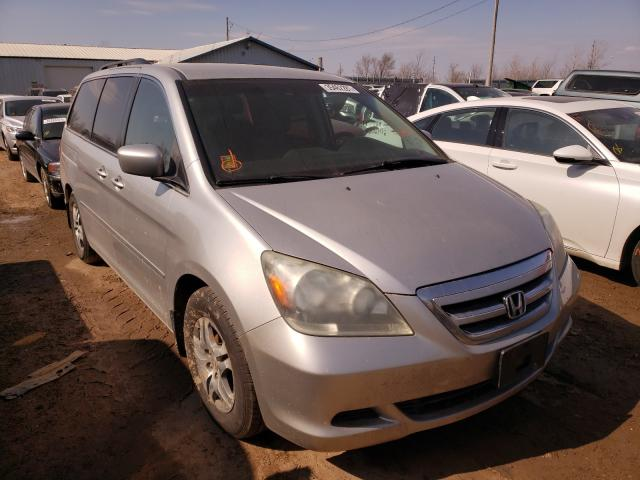 Salvage cars for sale from Copart Pekin, IL: 2007 Honda Odyssey EX