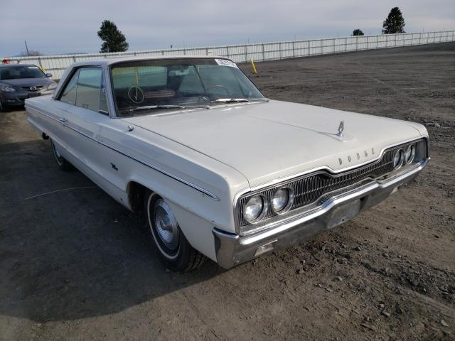 Vehiculos salvage en venta de Copart Airway Heights, WA: 1966 Dodge Polara 500