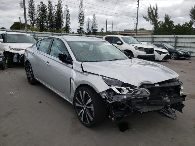 Nissan salvage cars for sale: 2021 Nissan Altima SR