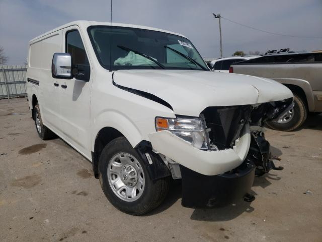 Salvage cars for sale from Copart Lexington, KY: 2020 Nissan NV 2500 SV