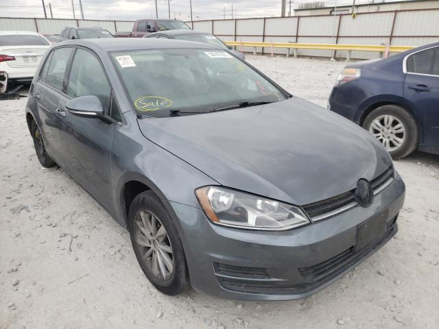 Volkswagen salvage cars for sale: 2016 Volkswagen Golf S/SE