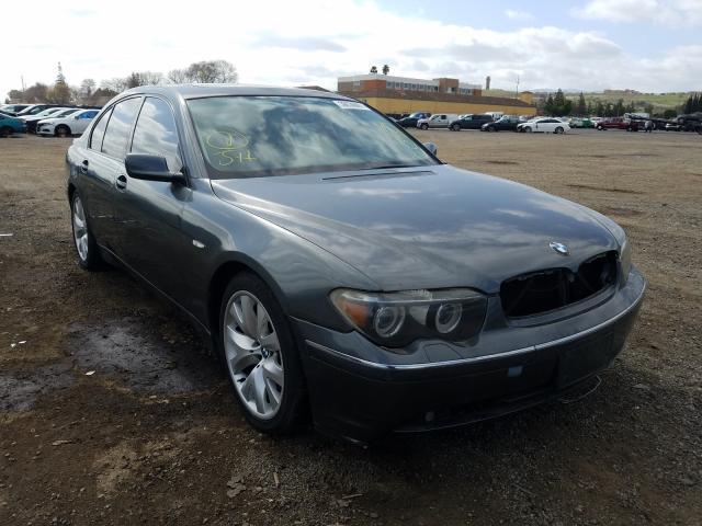 BMW Vehiculos salvage en venta: 2004 BMW 745 I