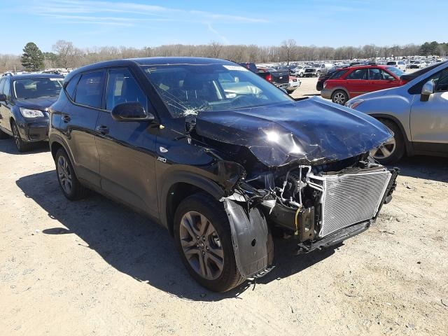 Salvage cars for sale from Copart Conway, AR: 2021 KIA Seltos LX