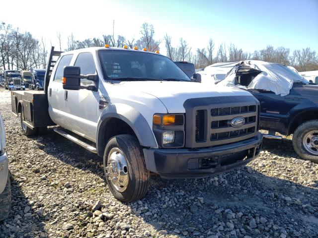 Salvage cars for sale from Copart Spartanburg, SC: 2008 Ford F550 Super