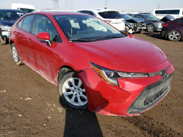 Salvage cars for sale from Copart Elgin, IL: 2020 Toyota Corolla LE