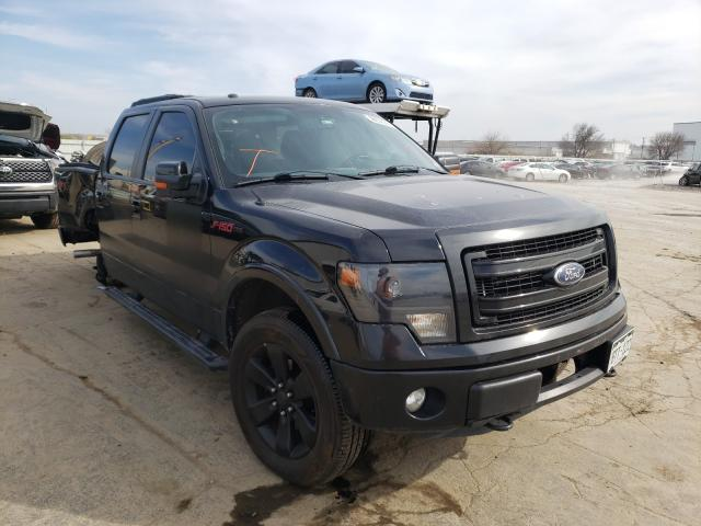 Salvage cars for sale from Copart Tulsa, OK: 2013 Ford F150 Super