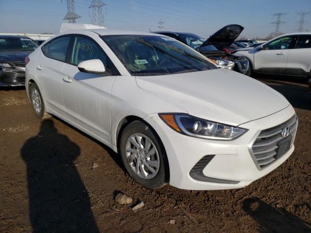Salvage cars for sale from Copart Elgin, IL: 2017 Hyundai Elantra SE