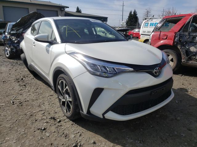 Salvage cars for sale from Copart Eugene, OR: 2021 Toyota C-HR XLE