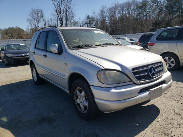 Salvage cars for sale from Copart Fredericksburg, VA: 2001 Mercedes-Benz ML