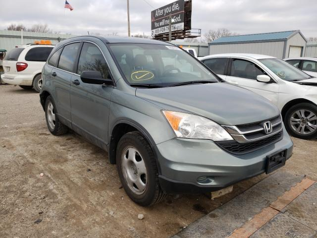Salvage cars for sale from Copart Wichita, KS: 2010 Honda CR-V LX