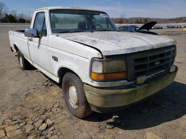 Salvage cars for sale from Copart Concord, NC: 1992 Ford F150