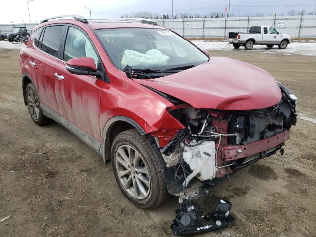 Salvage cars for sale from Copart Nisku, AB: 2017 Toyota Rav4 Limited
