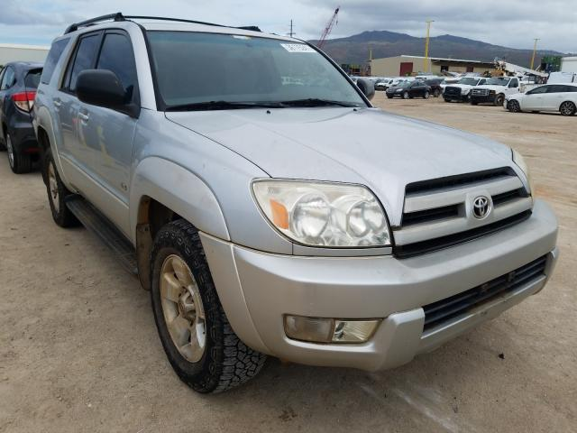 Salvage cars for sale from Copart Kapolei, HI: 2004 Toyota 4runner SR