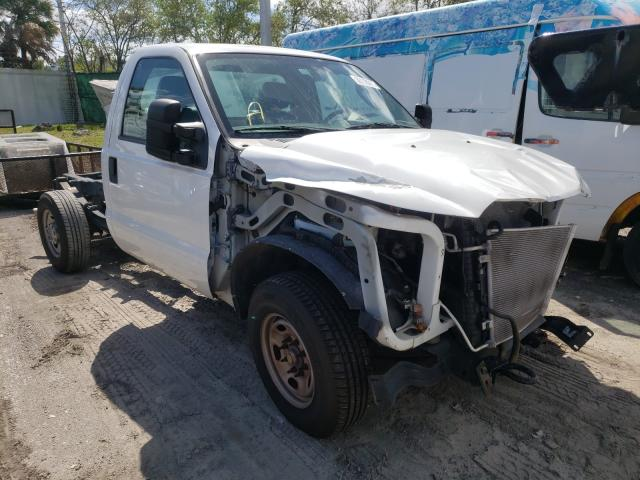 Salvage cars for sale from Copart West Palm Beach, FL: 2015 Ford F250 Super