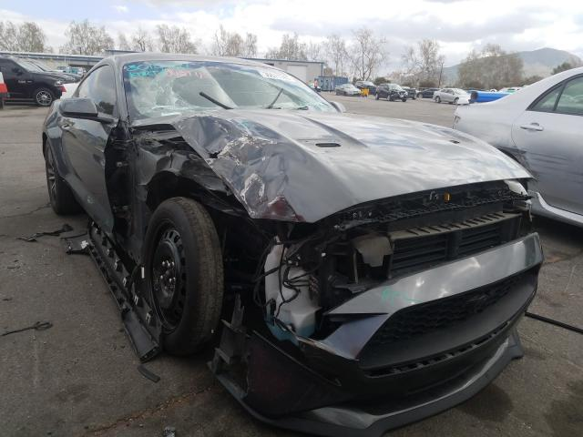 Salvage cars for sale from Copart Colton, CA: 2018 Ford Mustang