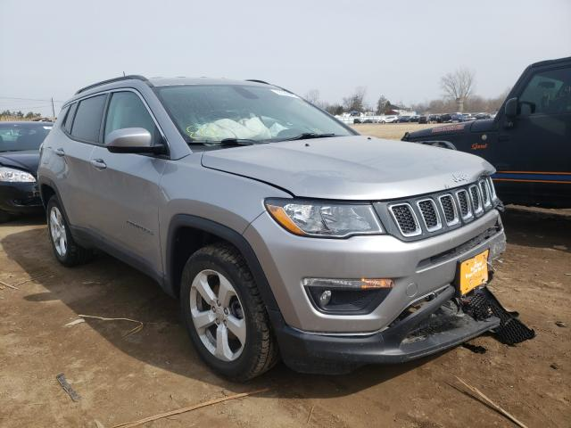 Salvage 2018 JEEP COMPASS - Small image. Lot 36358981