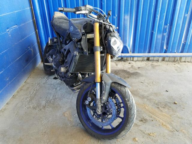 Salvage motorcycles for sale at Cartersville, GA auction: 2014 Yamaha FZ09