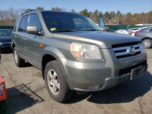 Salvage cars for sale from Copart Exeter, RI: 2007 Honda Pilot EXL