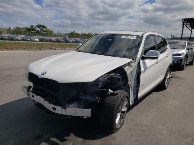 2013 BMW X3 XDRIVE2 5UXWX9C59D0A13824