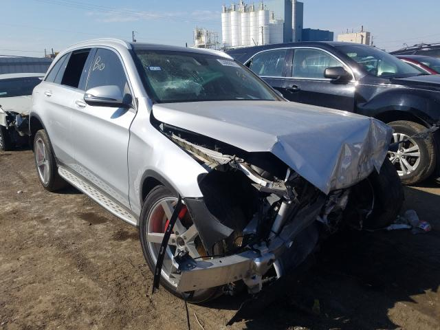 Vehiculos salvage en venta de Copart Chicago Heights, IL: 2016 Mercedes-Benz GLC 300