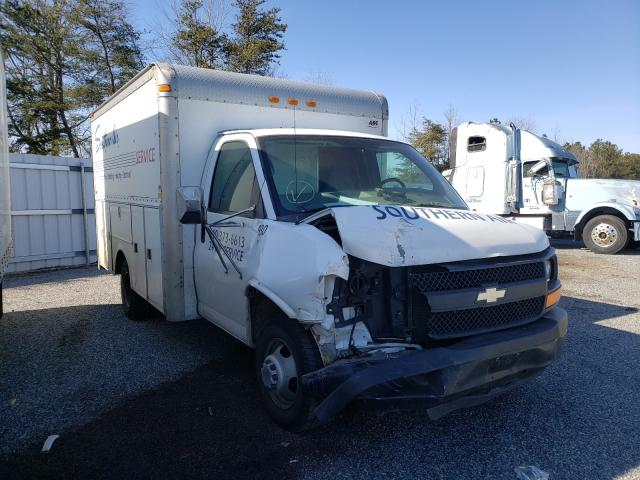 Salvage cars for sale from Copart Fredericksburg, VA: 2005 Chevrolet Express CU