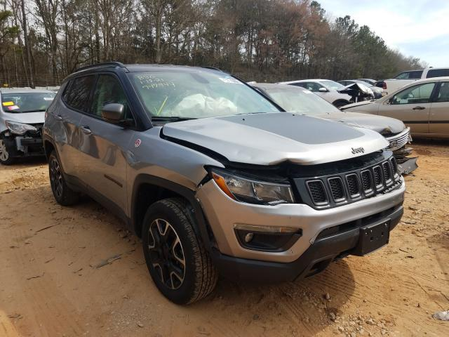 Salvage cars for sale from Copart Austell, GA: 2019 Jeep Compass TR