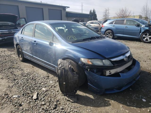Salvage cars for sale from Copart Eugene, OR: 2009 Honda Civic LX
