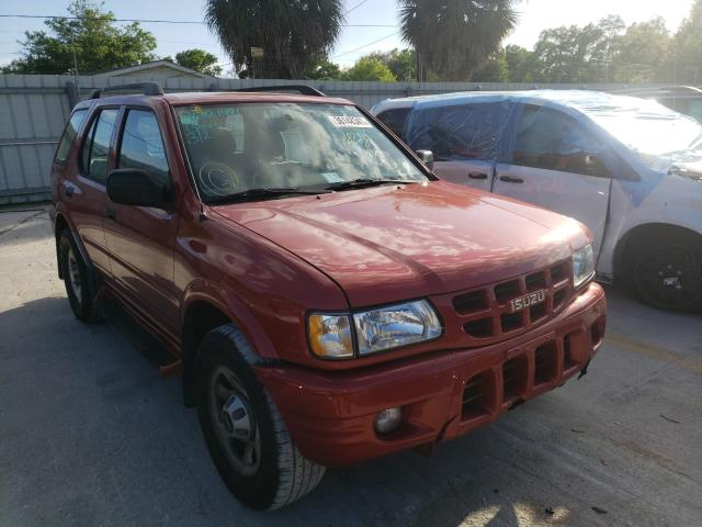 Isuzu Rodeo S salvage cars for sale: 2000 Isuzu Rodeo S