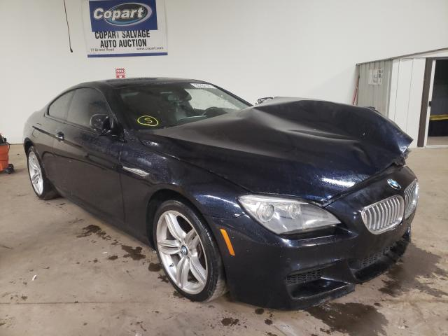 Salvage cars for sale from Copart Chalfont, PA: 2013 BMW 650 I