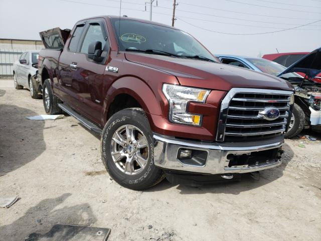 Vehiculos salvage en venta de Copart Columbus, OH: 2015 Ford F150 Super