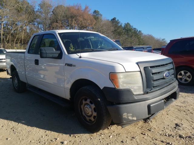 Salvage cars for sale from Copart Austell, GA: 2010 Ford F150 Super
