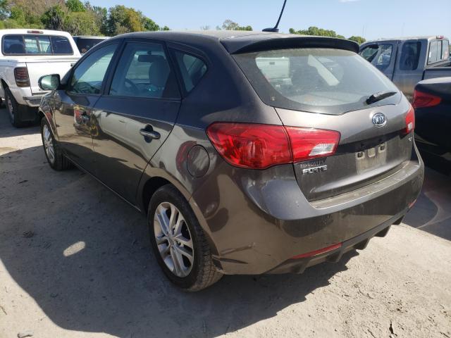 2012 KIA FORTE EX KNAFU5A29C5571485