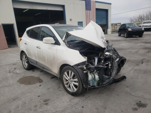 Salvage cars for sale from Copart Anthony, TX: 2013 Hyundai Tucson GLS
