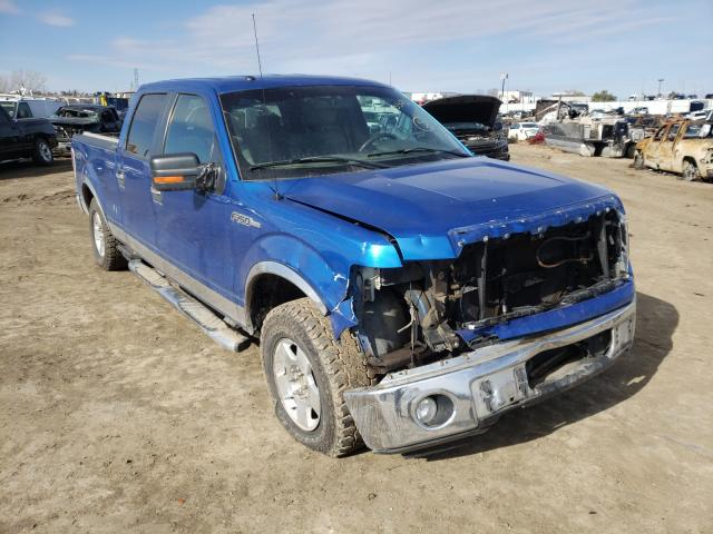 Salvage cars for sale from Copart Billings, MT: 2009 Ford F150 Super