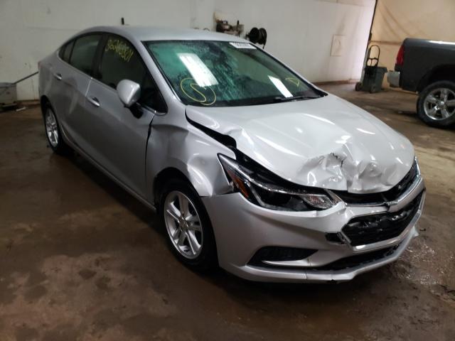 Salvage cars for sale from Copart Davison, MI: 2016 Chevrolet Cruze