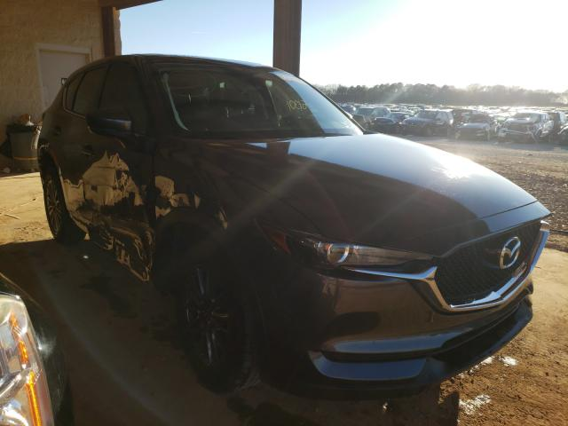 Salvage cars for sale from Copart Tanner, AL: 2017 Mazda CX-5 Touring
