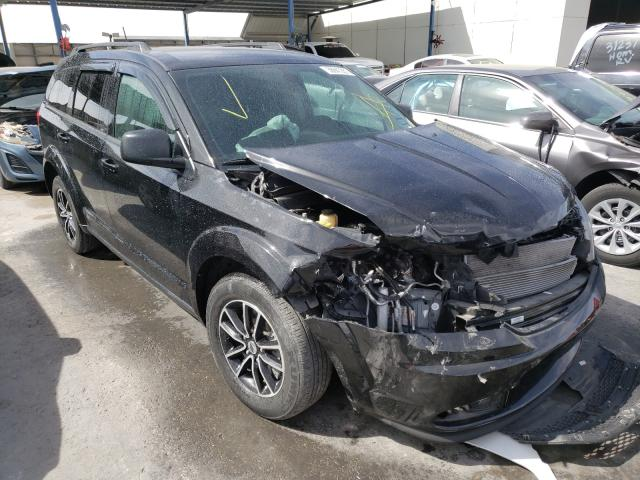 Salvage cars for sale from Copart Anthony, TX: 2018 Dodge Journey SE