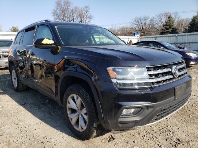 Salvage cars for sale from Copart Albany, NY: 2019 Volkswagen Atlas SE