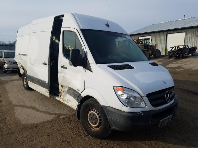 Mercedes-Benz Sprinter 2 salvage cars for sale: 2012 Mercedes-Benz Sprinter 2