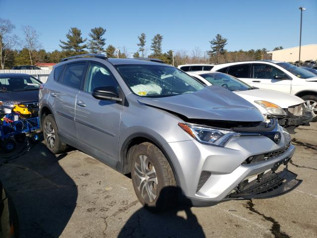 Salvage cars for sale from Copart Exeter, RI: 2018 Toyota Rav4 LE