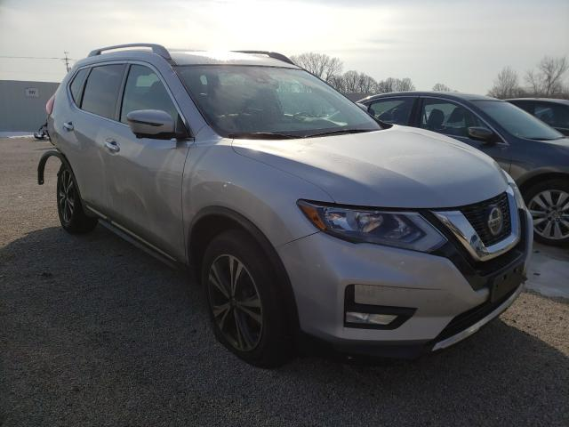 Salvage cars for sale from Copart Milwaukee, WI: 2018 Nissan Rogue S