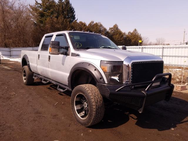 Salvage cars for sale from Copart Ontario Auction, ON: 2011 Ford F250 Super