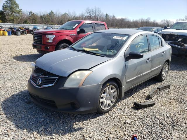 2012 NISSAN SENTRA 2.0 - Left Front View