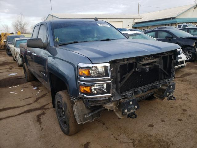 Salvage cars for sale from Copart Pekin, IL: 2014 Chevrolet Silverado