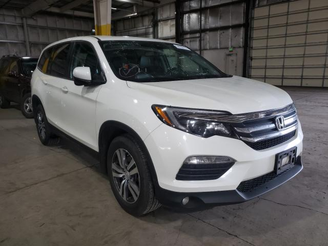 Salvage cars for sale from Copart Woodburn, OR: 2017 Honda Pilot EXL