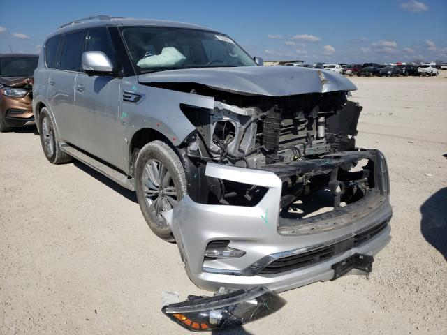 Salvage cars for sale from Copart San Antonio, TX: 2019 Infiniti QX80 Luxe