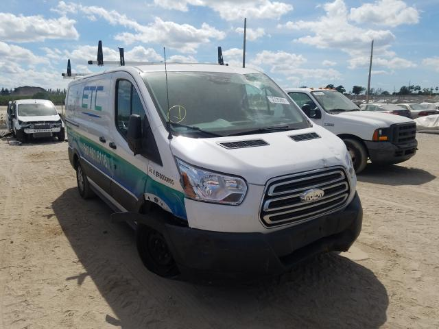 Salvage cars for sale from Copart West Palm Beach, FL: 2018 Ford Transit T