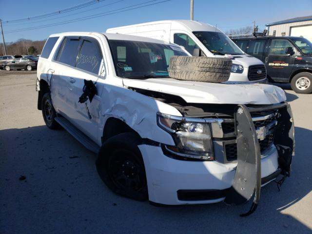 Salvage cars for sale from Copart North Billerica, MA: 2015 Chevrolet Tahoe Police