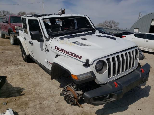 Salvage cars for sale from Copart Wichita, KS: 2020 Jeep Wrangler U